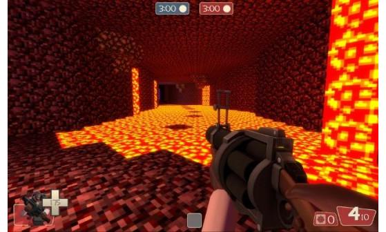 Minecraft dans Team Fortress 2 !