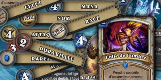 Hearthstone Cartes et effets