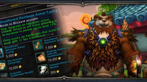 855e0de1233 World of Warcraft   Objets et équipement héritage - Millenium