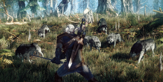The Witcher 3 : teaser VGX