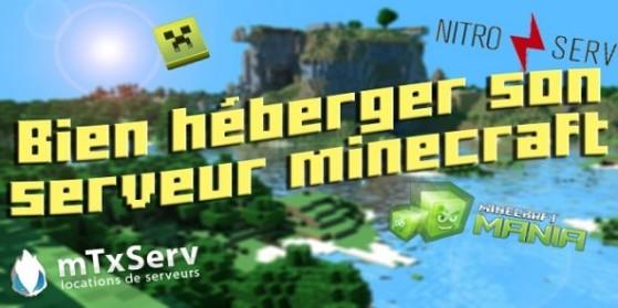 Bien héberger votre serveur Minecraft