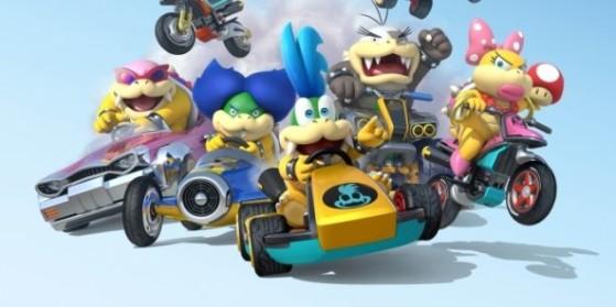 Mario Kart 8 : Personnages et stats