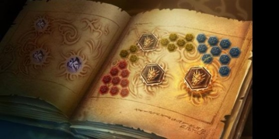 Promotion, pages de runes