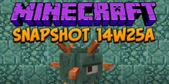 Minecraft 1.8 : snapshot 14w25a