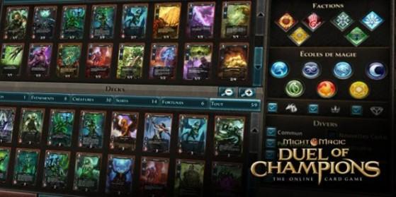 DoC : Decks de tournoi