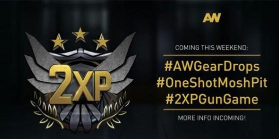 AW Double XP et nouveaux modes