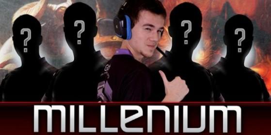 Millenium : nouvelle line-up