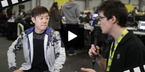 WCS 2015 - Interview de David Kim