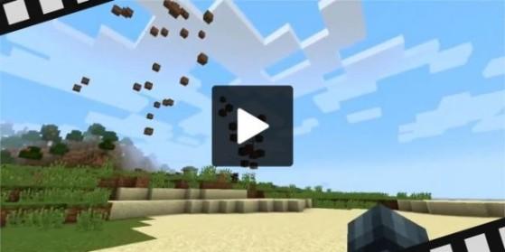 Créer une tornade dans Minecraft vanilla