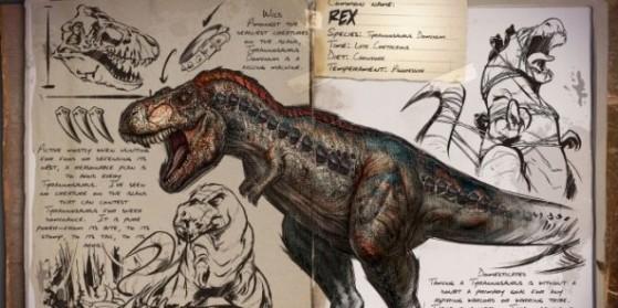 ark : tyrannosaurus rex - millenium