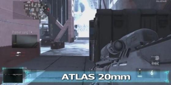 Atlas 20mm Arme Sniper Advanced Warfare