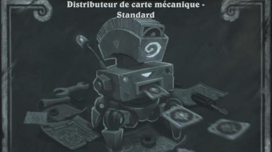 Bras de fer Hearthstone : Distributeur de carte mécanique