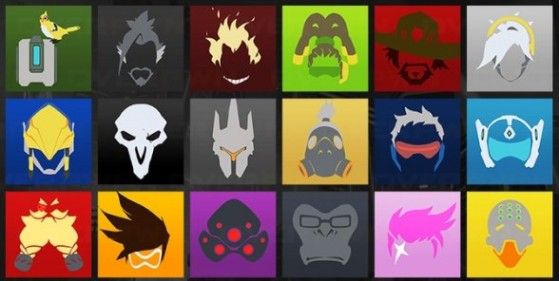 Overwatch : Avatar des héros