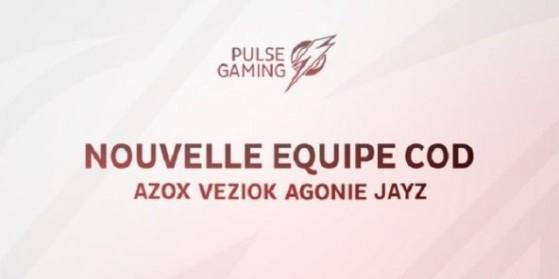 Les Aware rejoignent Pulse Gaming