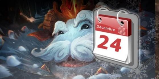 Noël 2015, calendrier de l'Avent LoL
