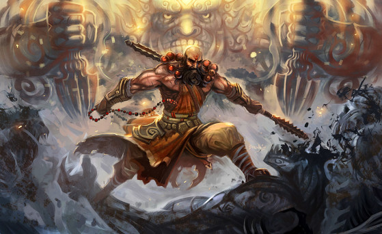 Diablo 3 : Build Moine Sunwuko, distance