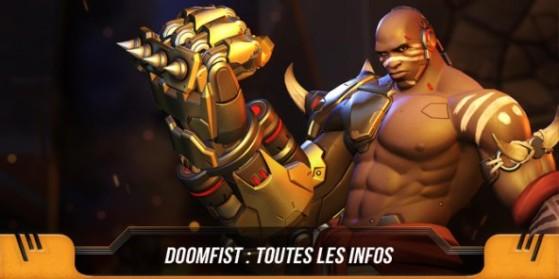 Doomfist nouveau héros Overwatch