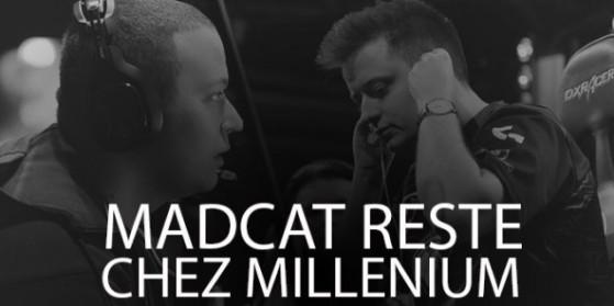 MadCat quitte le roster Millenium