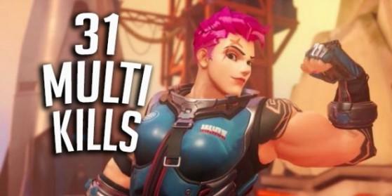 Compilation de 31 Multi Kills sur Ow