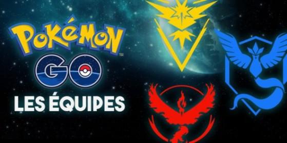 Les équipes dans Pokémon GO