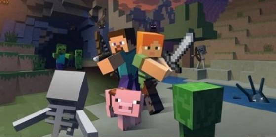 Un roman Minecraft en préparation