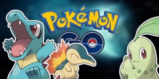 Fuite de la génération 2 dans Pokémon GO