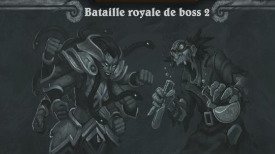 Hearthstone, Bras de fer : Bataille royale de boss