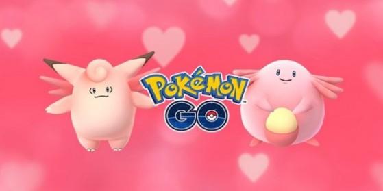 Event Saint-Valentin sur Pokémon GO !