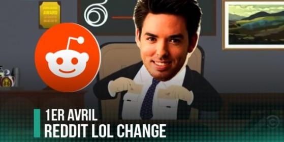 Reddit LoL : changement