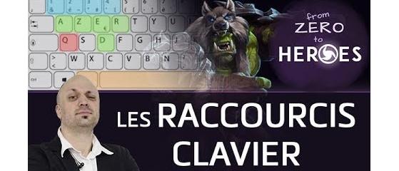 HotS - Raccourcis clavier