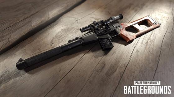 Armes PUBG : Fusils Sniper, SR