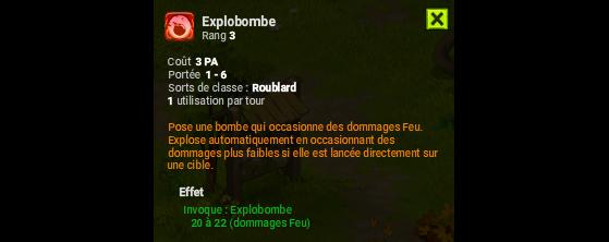 Explobombe - Dofus