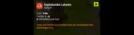 Explobombe Latente - Dofus