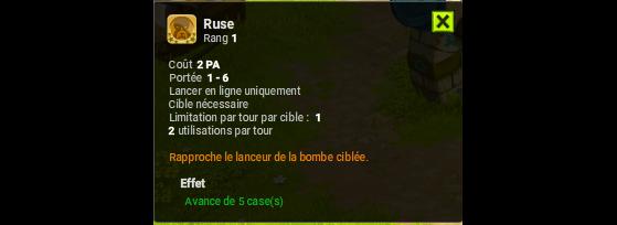 Ruse - Dofus