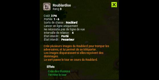 Roublardise - Dofus