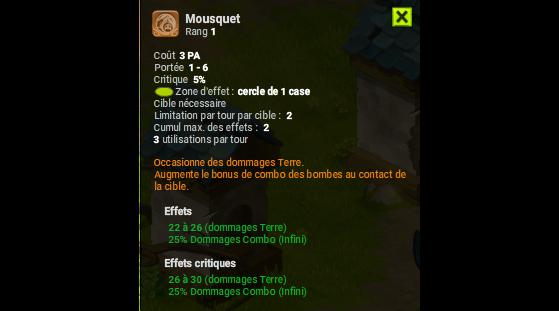 Mousquet - Dofus