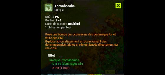 Tornabombe - Dofus
