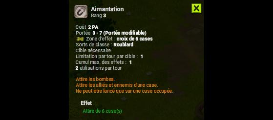 Aimantation - Dofus