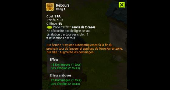 Rebours - Dofus