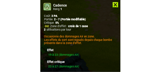 Cadence - Dofus
