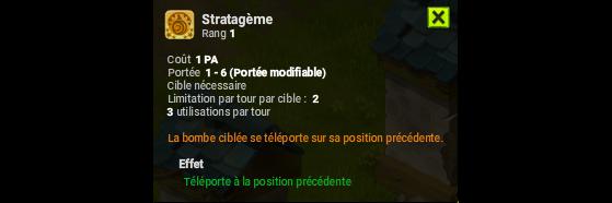 Stratagème - Dofus