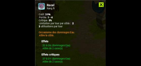 Recel - Dofus