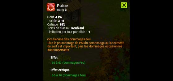 Pulsar - Dofus