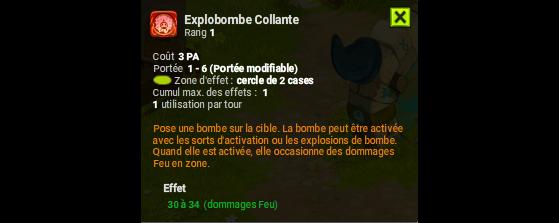 Explobombe Collante - Dofus