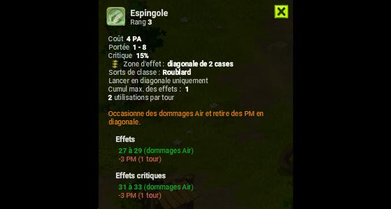 Espingole - Dofus