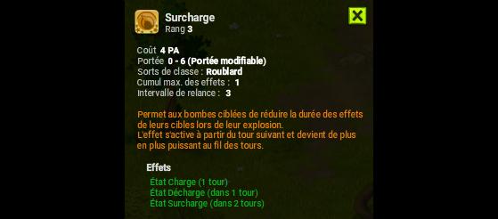 Surcharge - Dofus