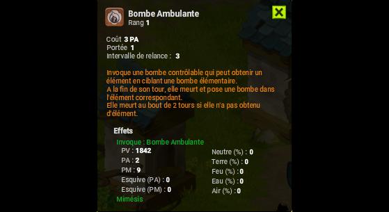 Bombe Ambulante - Dofus
