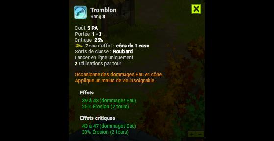 Tromblon - Dofus