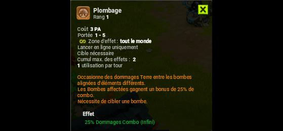 Plombage - Dofus