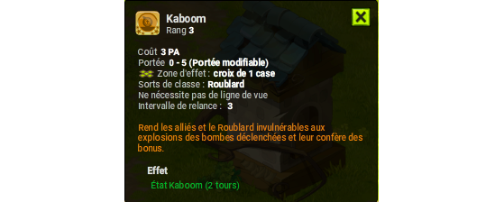 Kaboom - Dofus